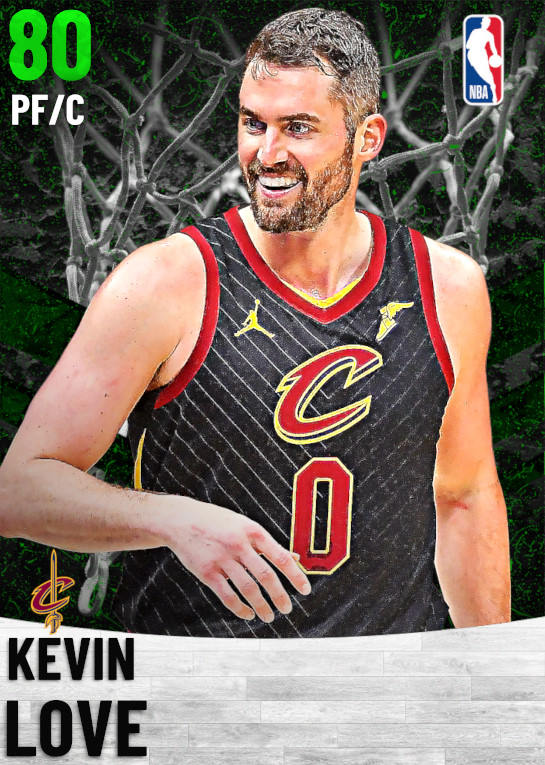80 Kevin Love   Cleveland Cavaliers