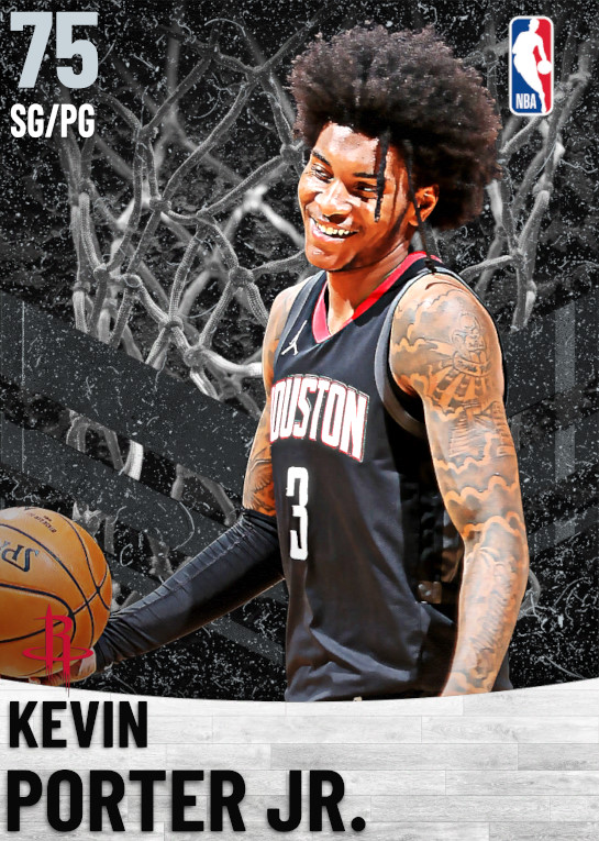 75 Kevin Porter Jr.   Houston Rockets