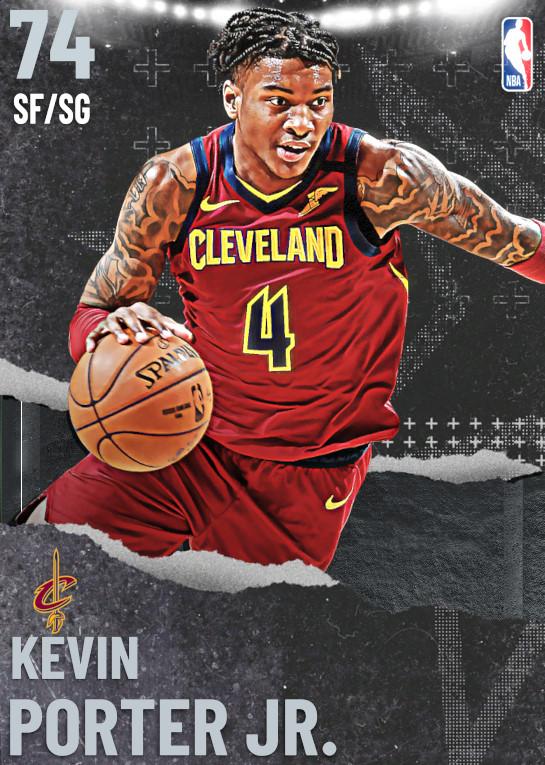 74 Kevin Porter Jr. | undefined