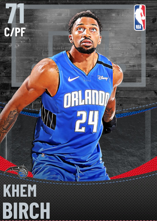 71 Khem Birch | Orlando Magic