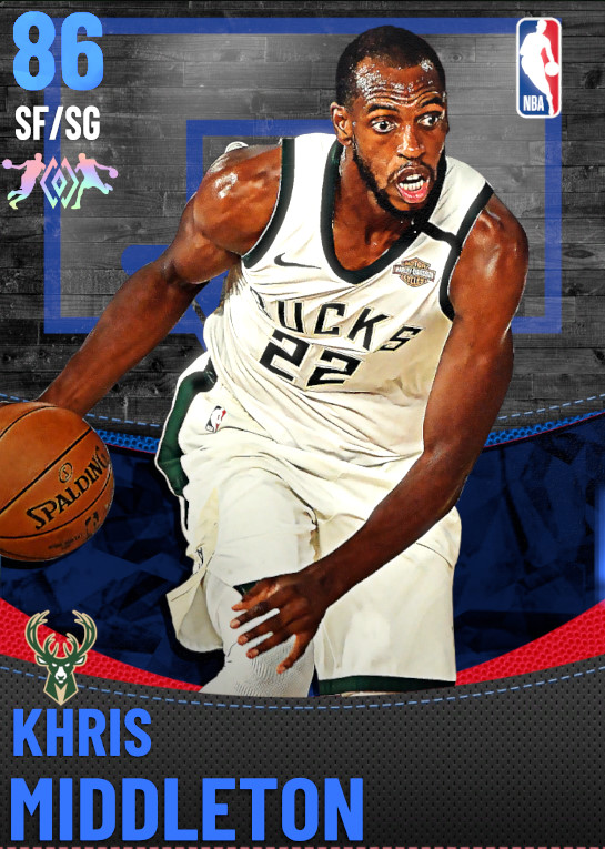 86 Khris Middleton | Milwaukee Bucks