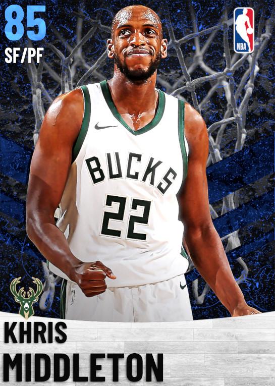 85 Khris Middleton   Milwaukee Bucks