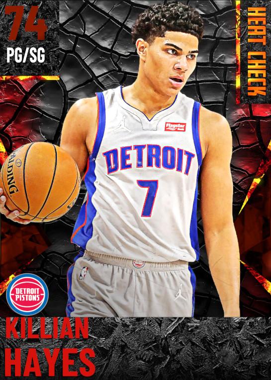 74 Killian Hayes | Detroit Pistons