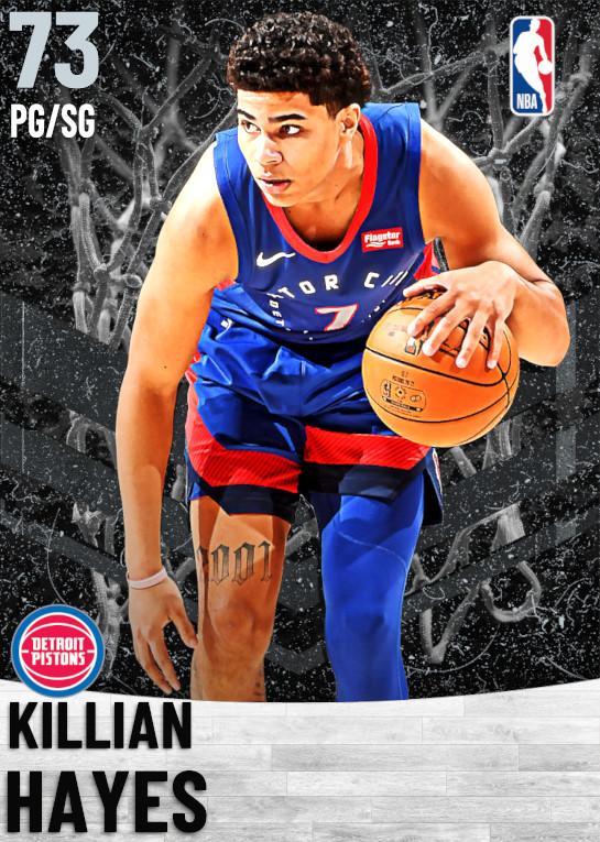 73 Killian Hayes   Detroit Pistons