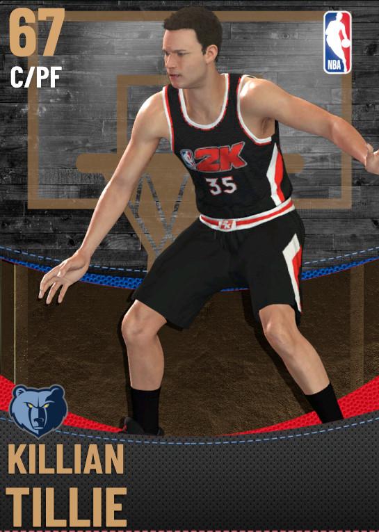 67 Killian Tillie | Memphis Grizzlies