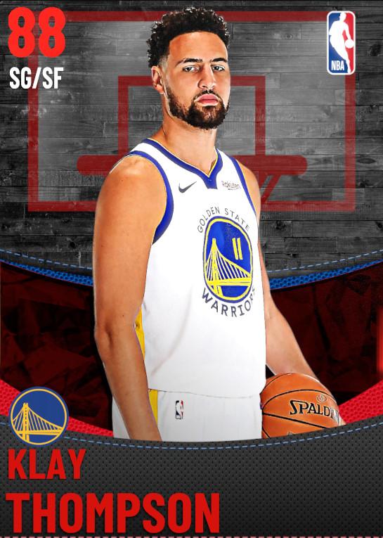 88 Klay Thompson | Golden State Warriors