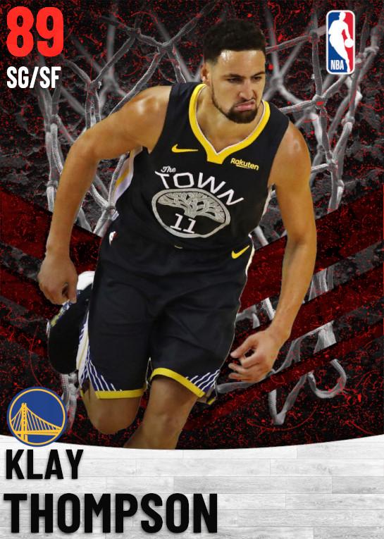89 Klay Thompson   Golden State Warriors