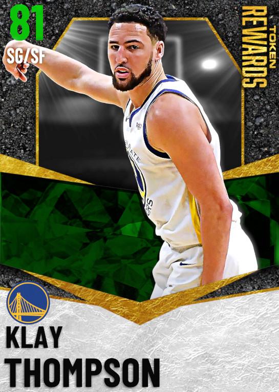 81 Klay Thompson | undefined