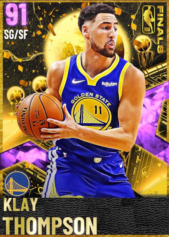 91 Klay Thompson | Finals