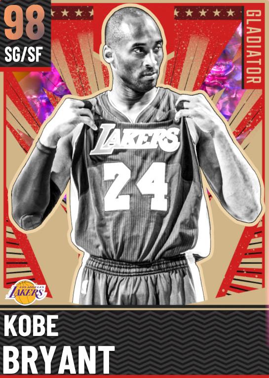 98 Kobe Bryant   Gladiator