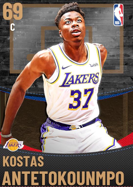 69 Kostas Antetokounmpo | Los Angeles Lakers