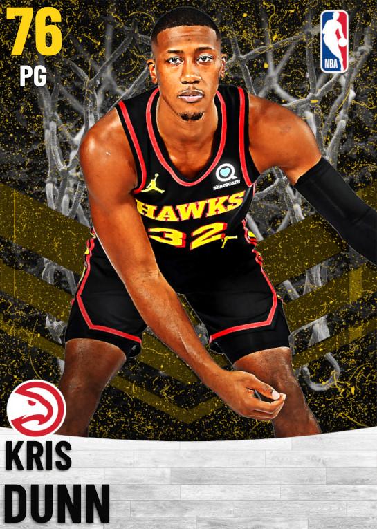 76 Kris Dunn   Atlanta Hawks