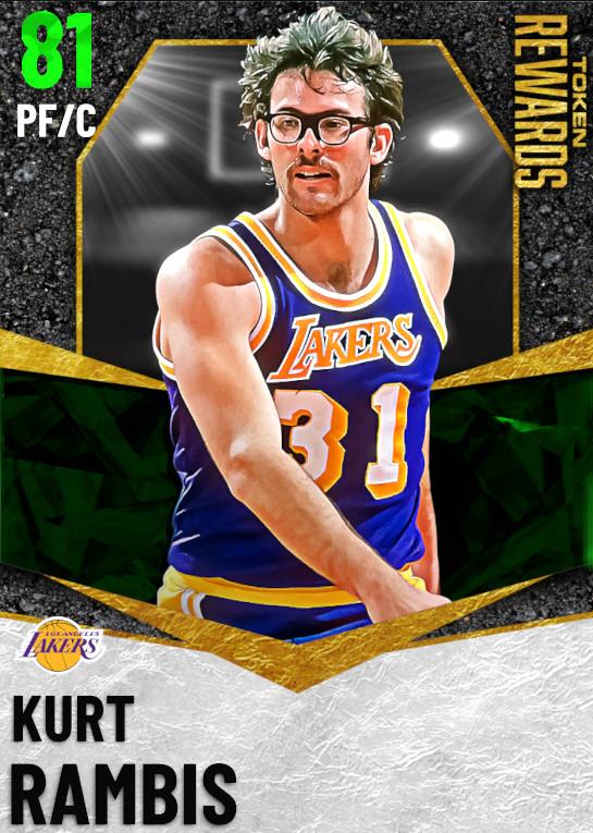 81 Kurt Rambis | undefined