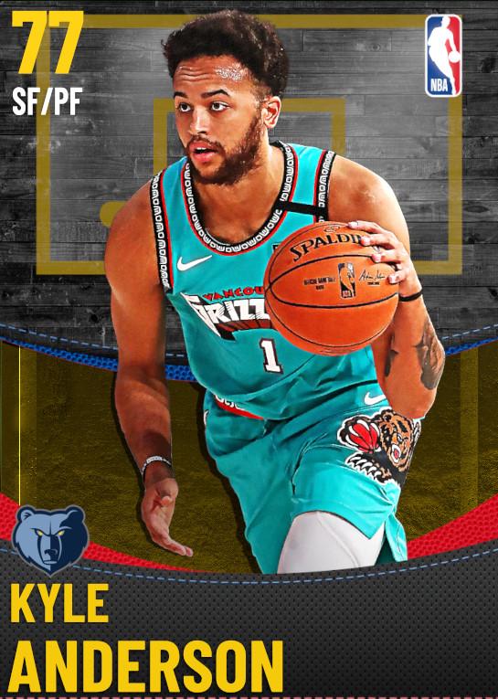 77 Kyle Anderson | Memphis Grizzlies