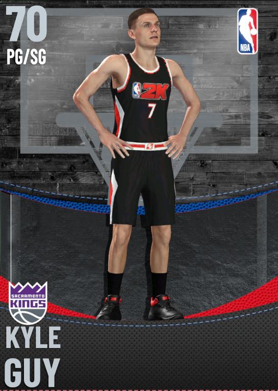 70 Kyle Guy | Sacramento Kings