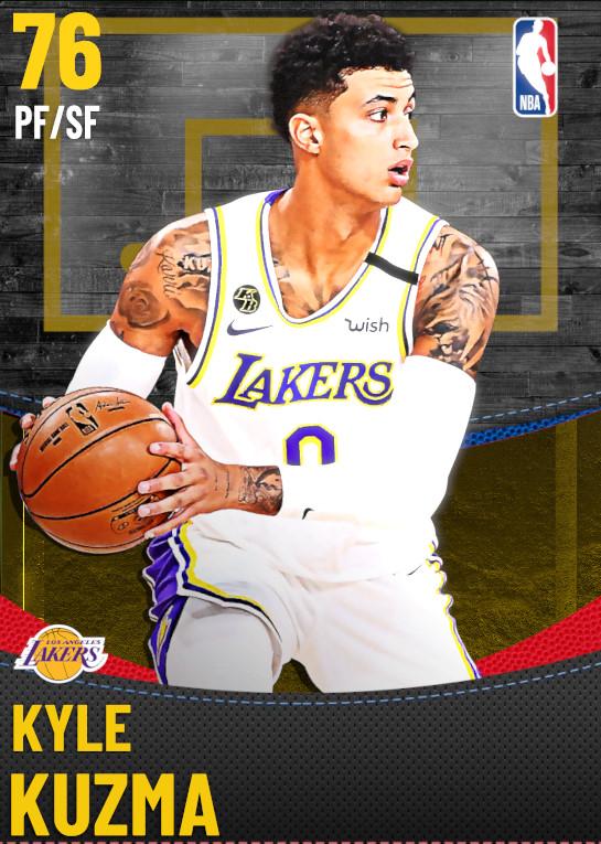 76 Kyle Kuzma | Los Angeles Lakers