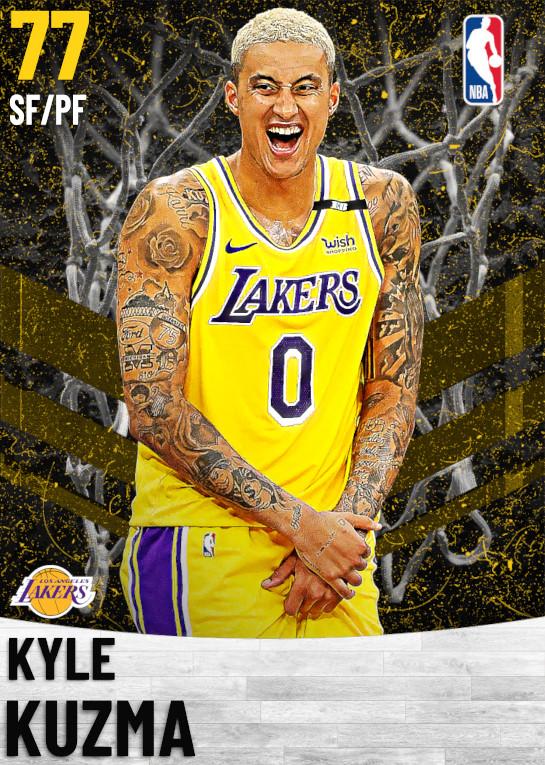 77 Kyle Kuzma   Los Angeles Lakers