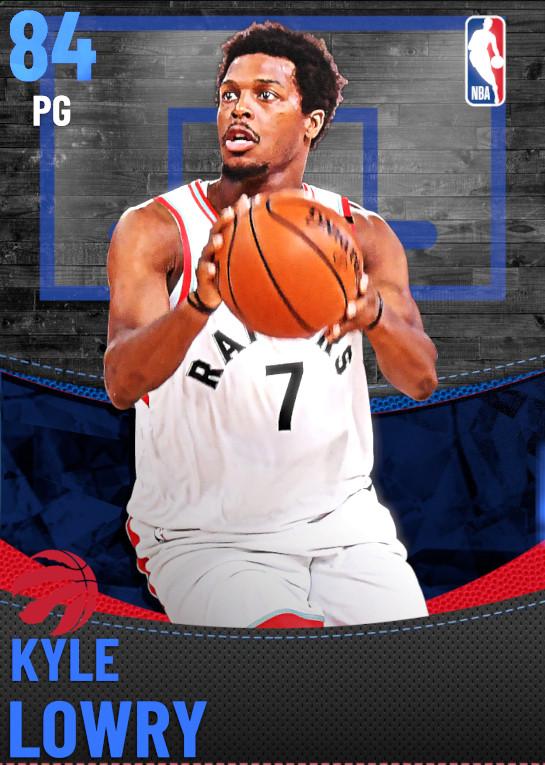 84 Kyle Lowry | Toronto Raptors