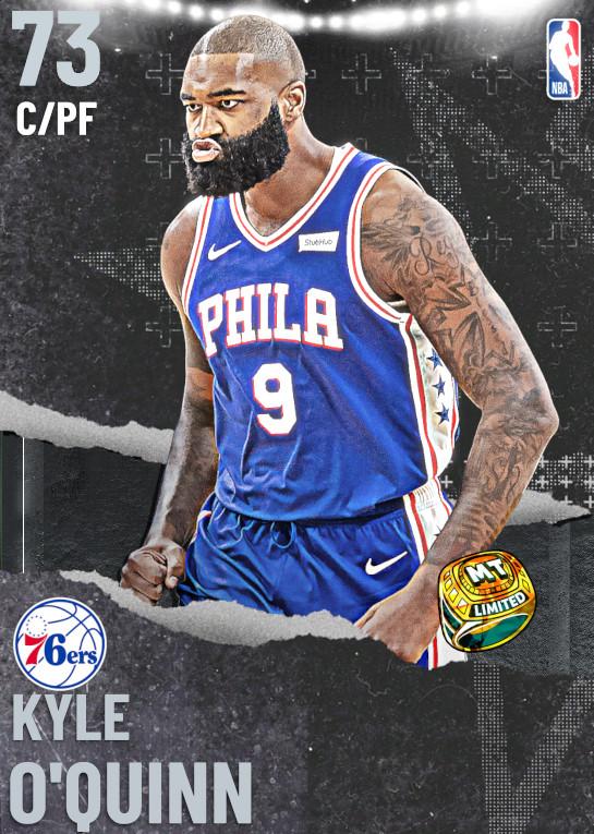 73 Kyle O'Quinn   Philadelphia 76ers