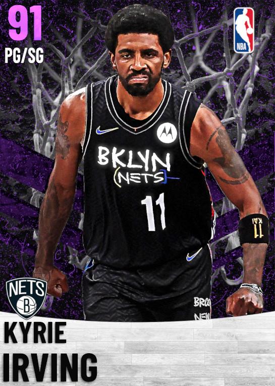 91 Kyrie Irving   Brooklyn Nets