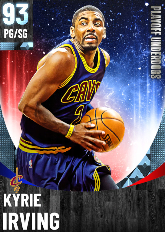 93 Kyrie Irving | One Will Rise Playoff Underdogs