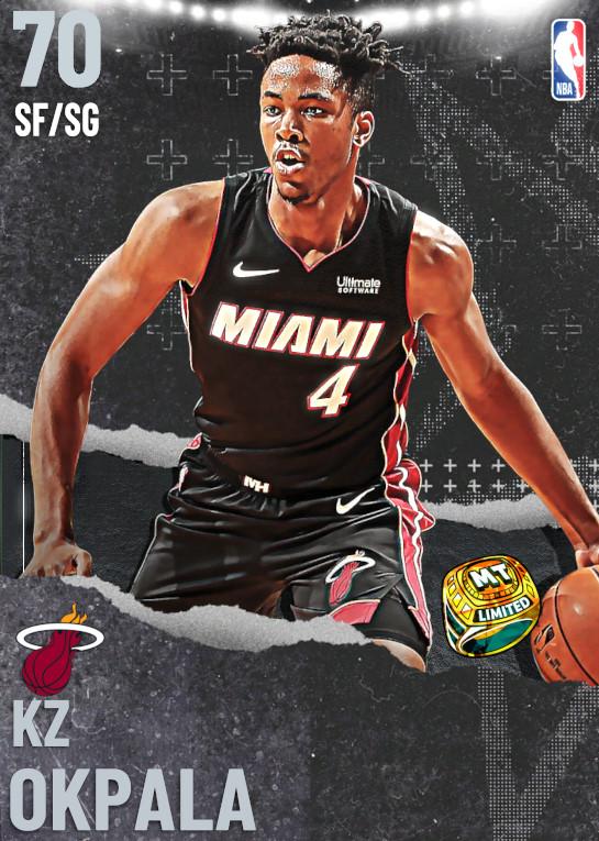 70 KZ Okpala   Miami Heat