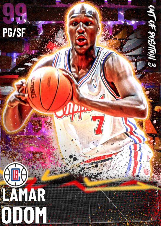 99 Lamar Odom | Out of Position 3