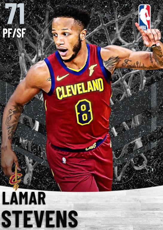 71 Lamar Stevens   Cleveland Cavaliers