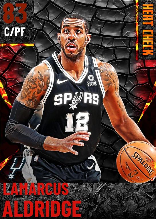 83 LaMarcus Aldridge | San Antonio Spurs