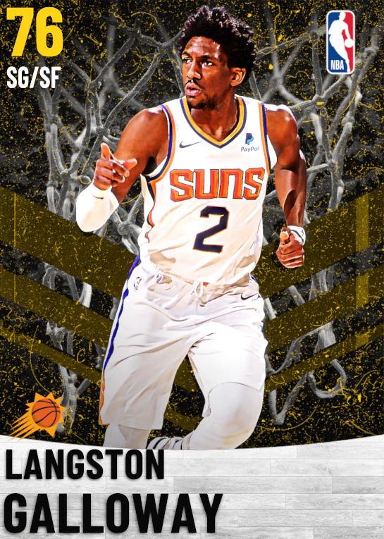 76 Langston Galloway   Phoenix Suns