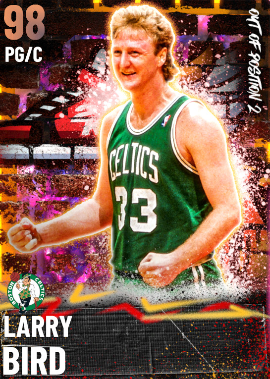 98 Larry Bird   Out of Position 2