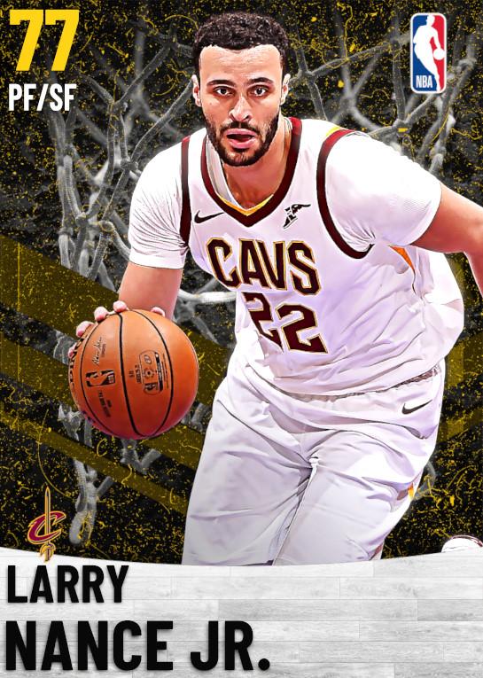 77 Larry Nance Jr.   Cleveland Cavaliers