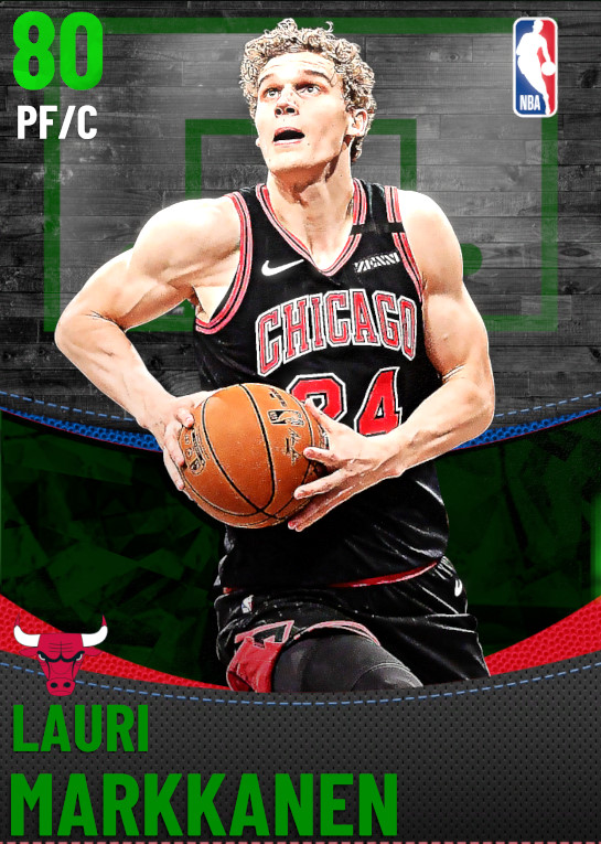 80 Lauri Markkanen | Chicago Bulls