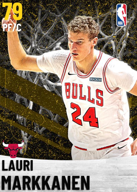 79 Lauri Markkanen   Chicago Bulls