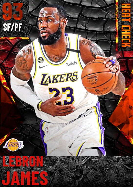 93 LeBron James | Los Angeles Lakers