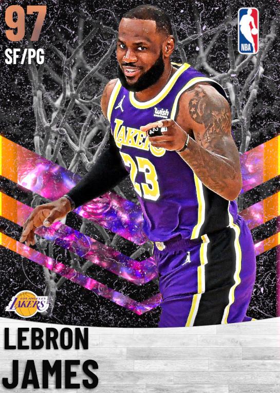 97_LeBron James_Los Angeles Lakers