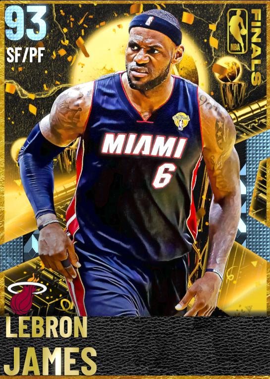 93 LeBron James | Finals