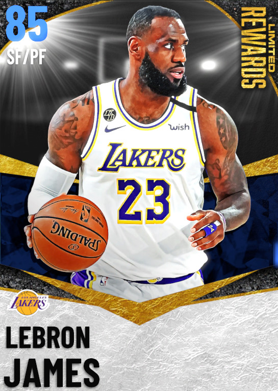 85 LeBron James | Limited Rewards Finals