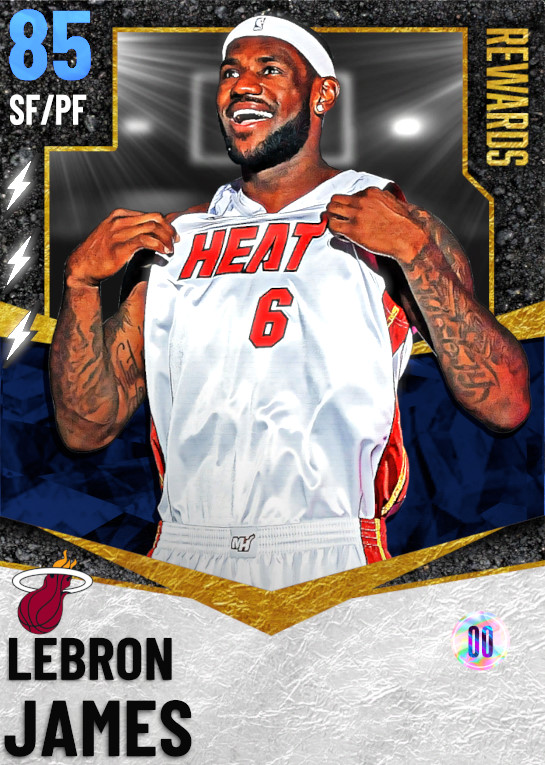85 LeBron James | Season 5 Rewards