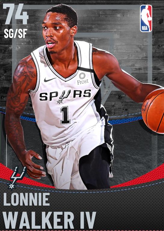 74 Lonnie Walker IV | San Antonio Spurs