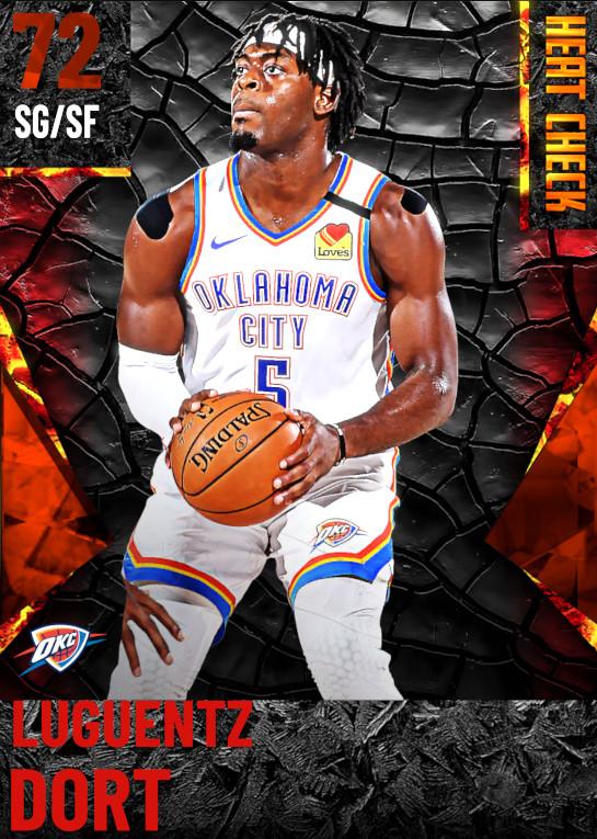 72 Luguentz Dort | Oklahoma City Thunder