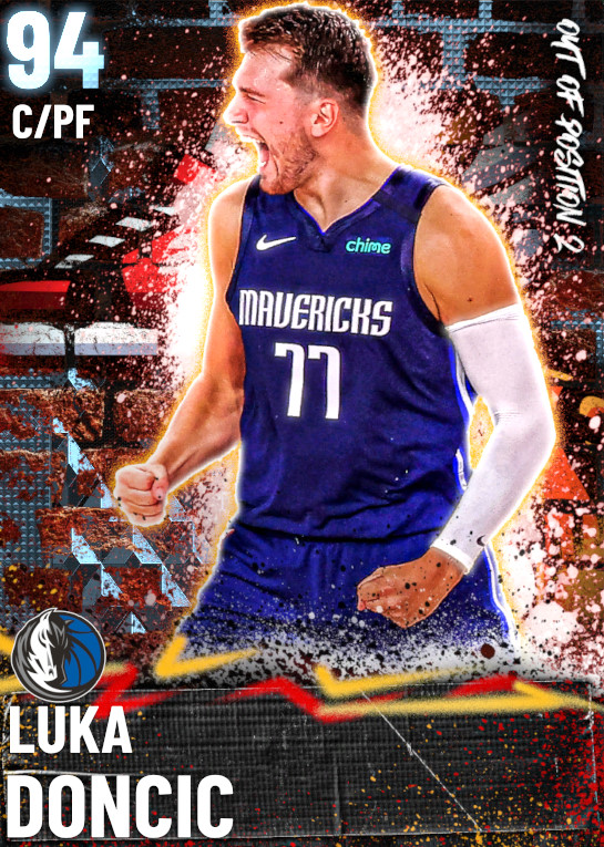 94 Luka Doncic   Out of Position 2