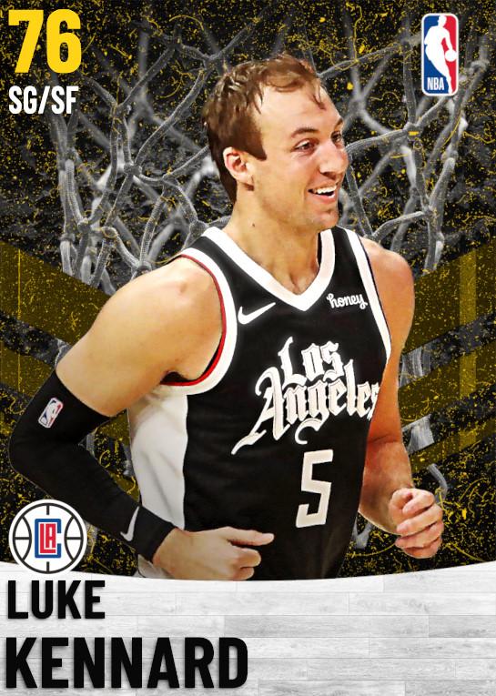 76 Luke Kennard   Los Angeles Clippers