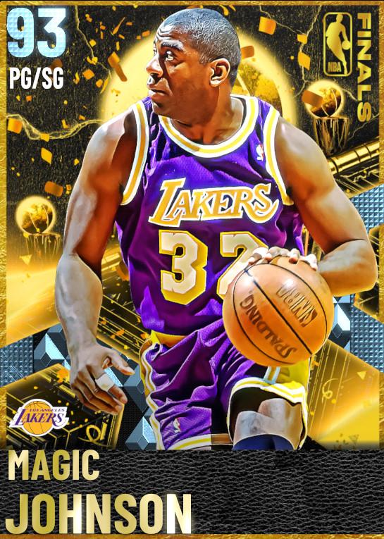 93 Magic Johnson | Finals