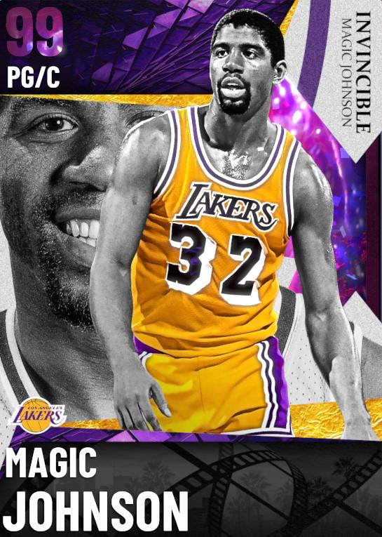 99 Magic Johnson | Invincible