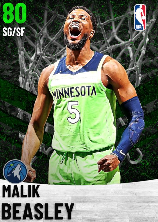 80 Malik Beasley   Minnesota Timberwolves