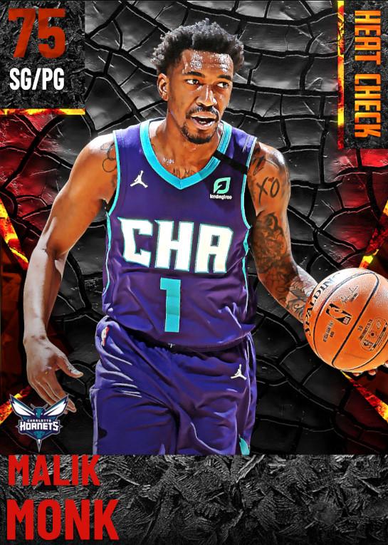 75 Malik Monk | Charlotte Hornets