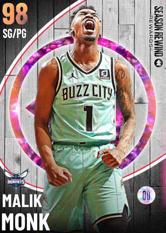 98 Malik Monk   undefined
