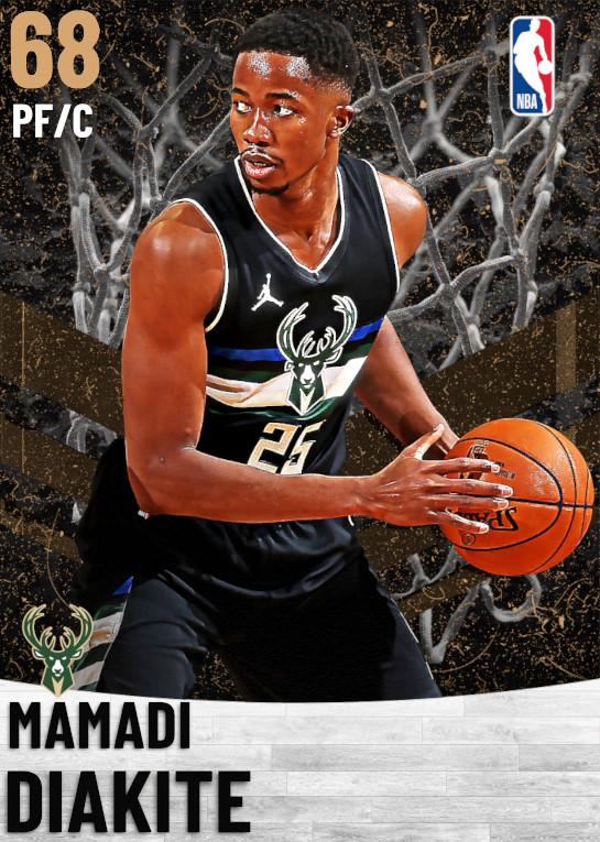 68 Mamadi Diakite   Milwaukee Bucks