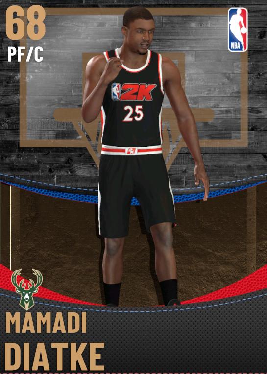 68 Mamadi Diatke | Milwaukee Bucks